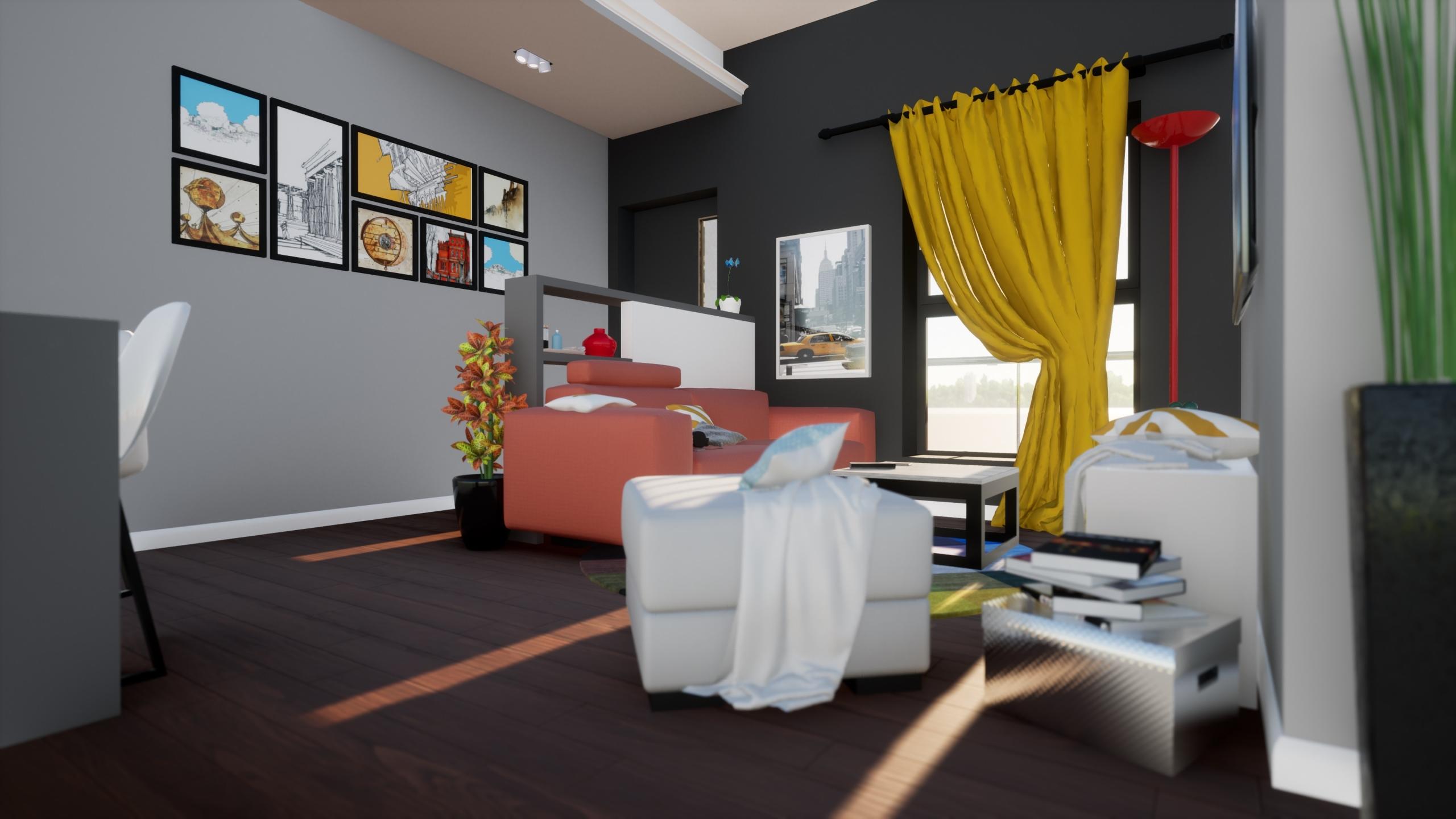 3D Interior Design Apartment